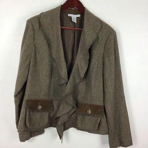 Cabi Wool-blend Blazer 14